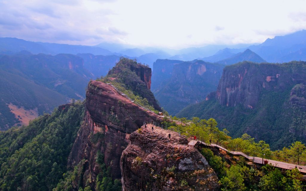 Liming Laojunshan National Park - Tours