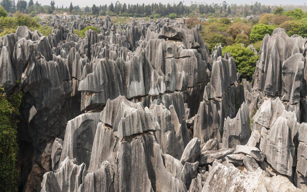 Shilin Yunnan China Shilin Stone Forest - Tours